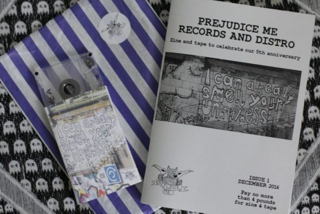 prejudice me records zine & tape