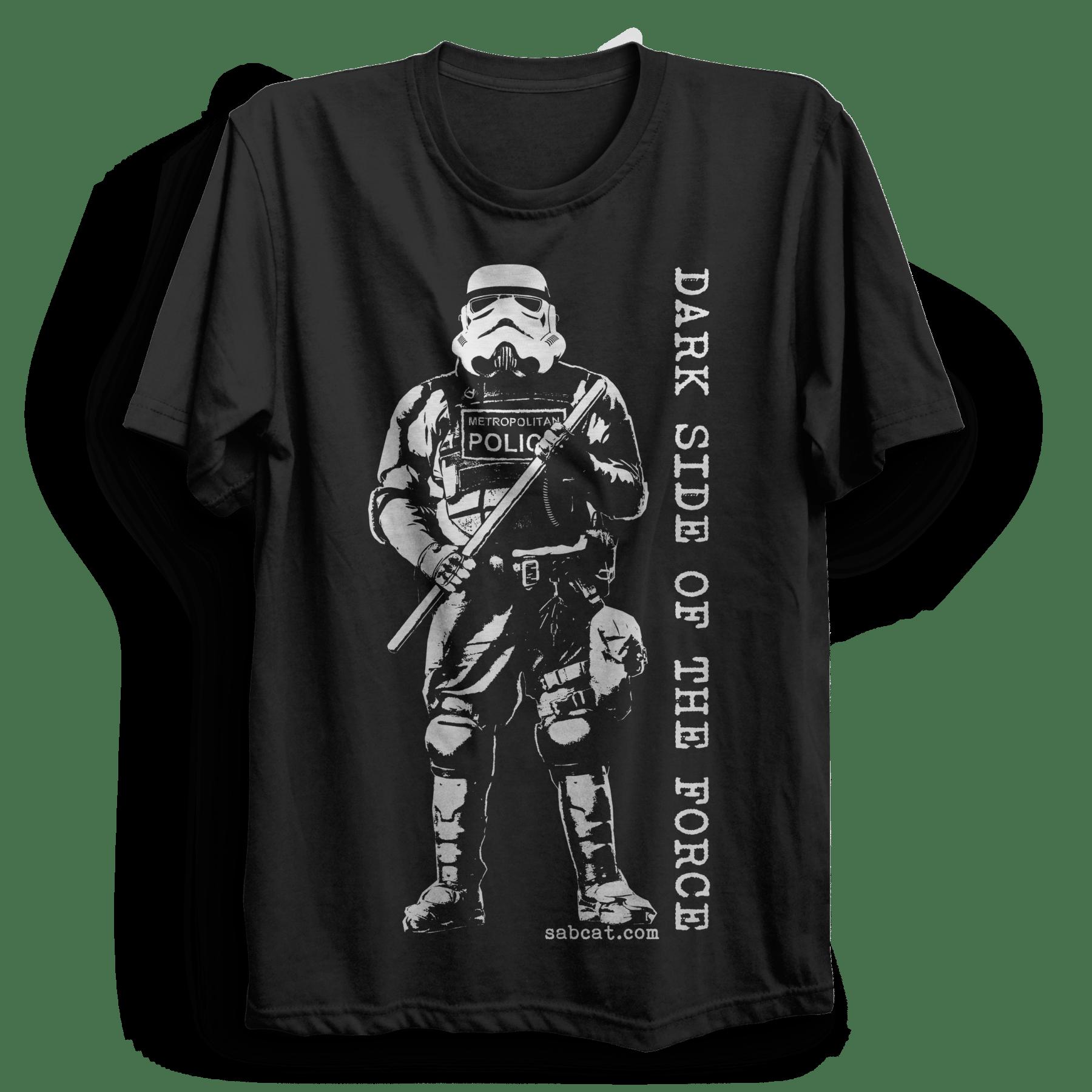 Dark Side Of The Force T Shirt Punx Uk