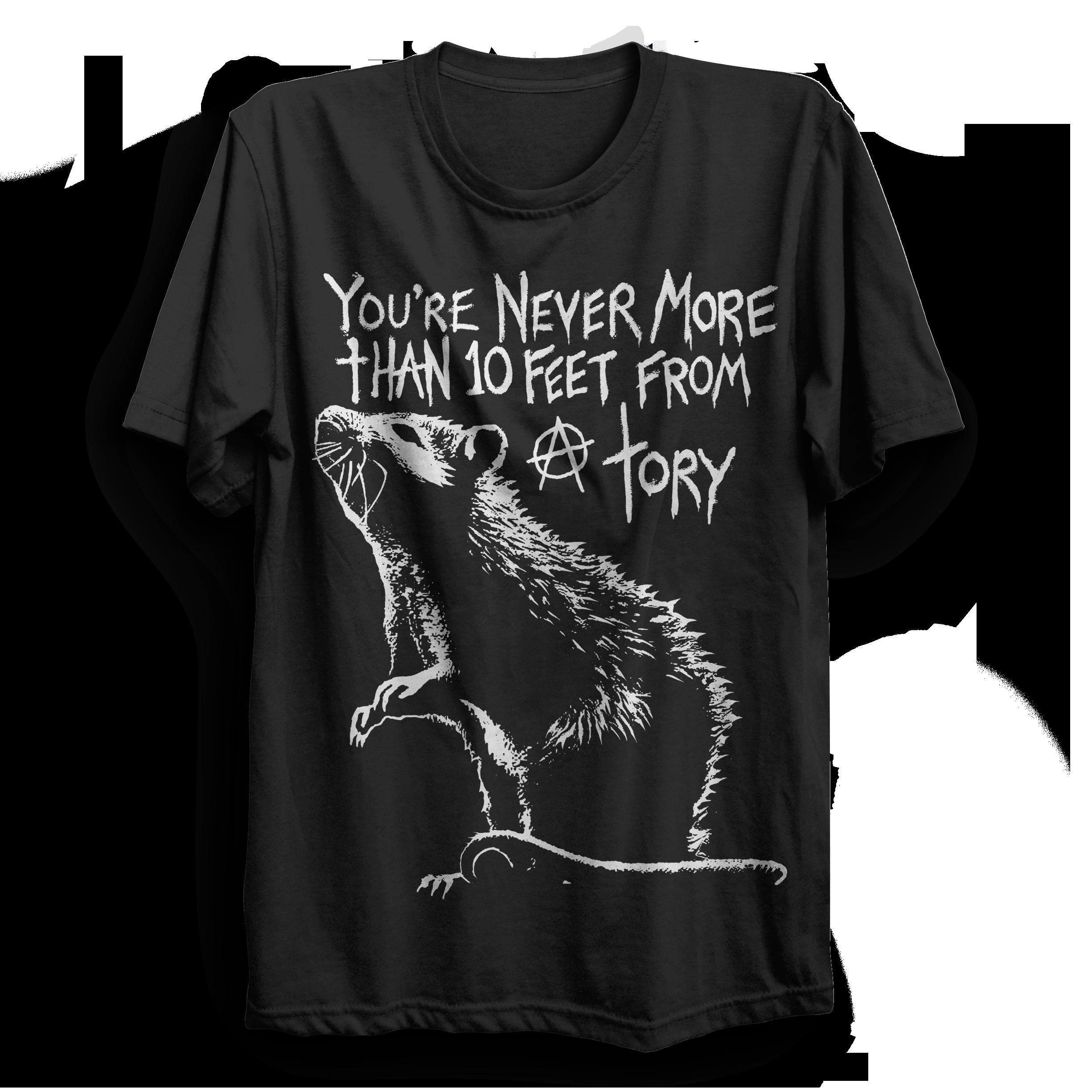 Tory rat t shirt punx uk for T shirts online uk