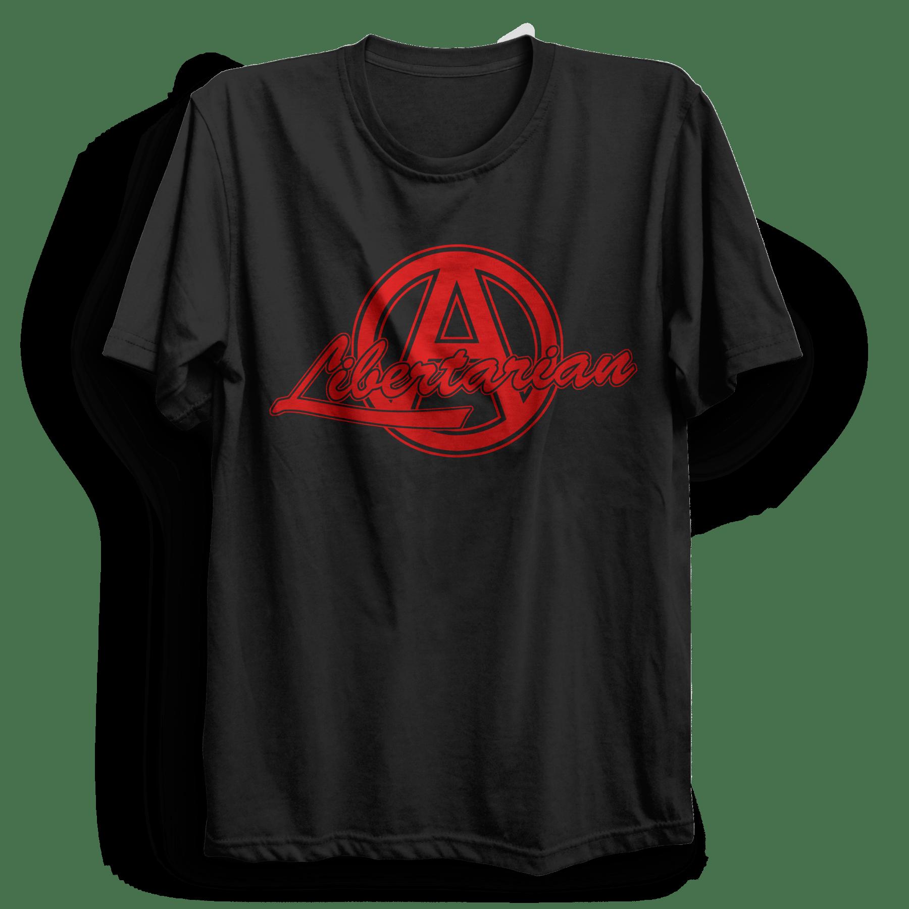 63026edf3b9b63 Libertarian T-Shirt - PUNX.UK