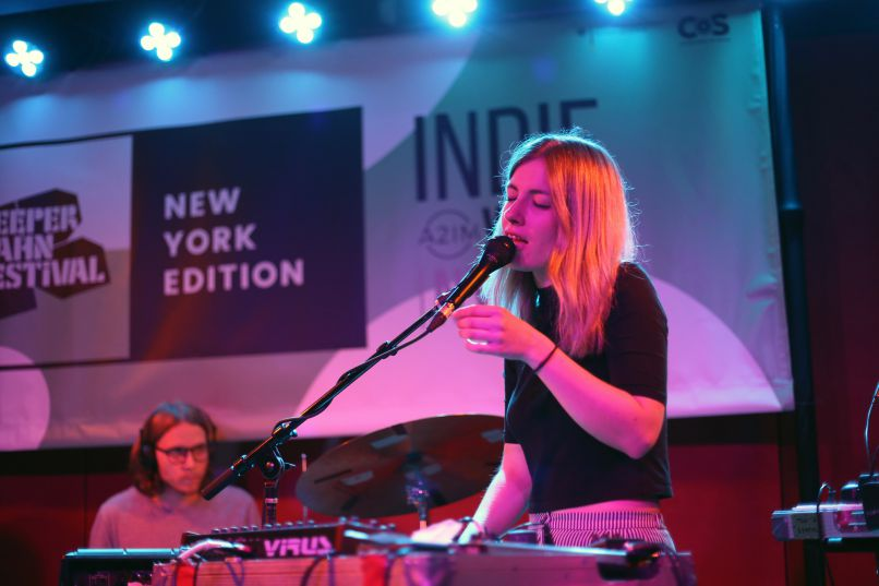 03 leyya Live Review: Reeperbahn Festival Showcase at New York's Pianos (6/7)