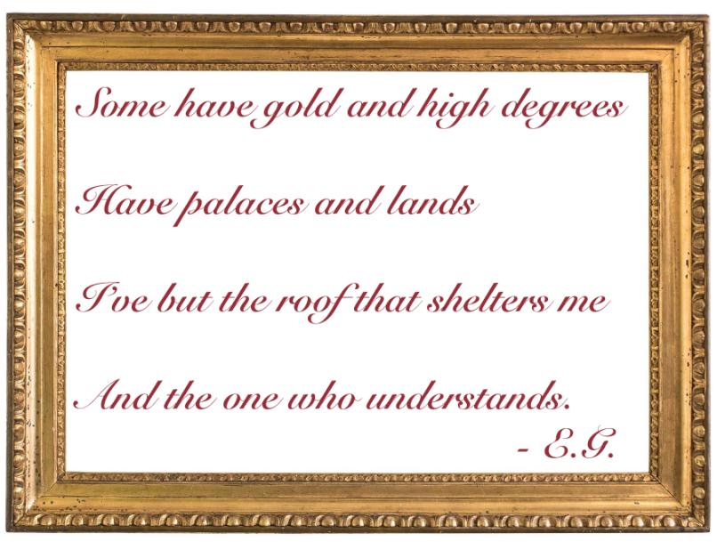 Picture Frame Poem