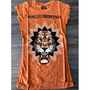 3772b0578c5 Axewound Ladies Super Heavy Lion Logo (Ex Tour) T-Shirt
