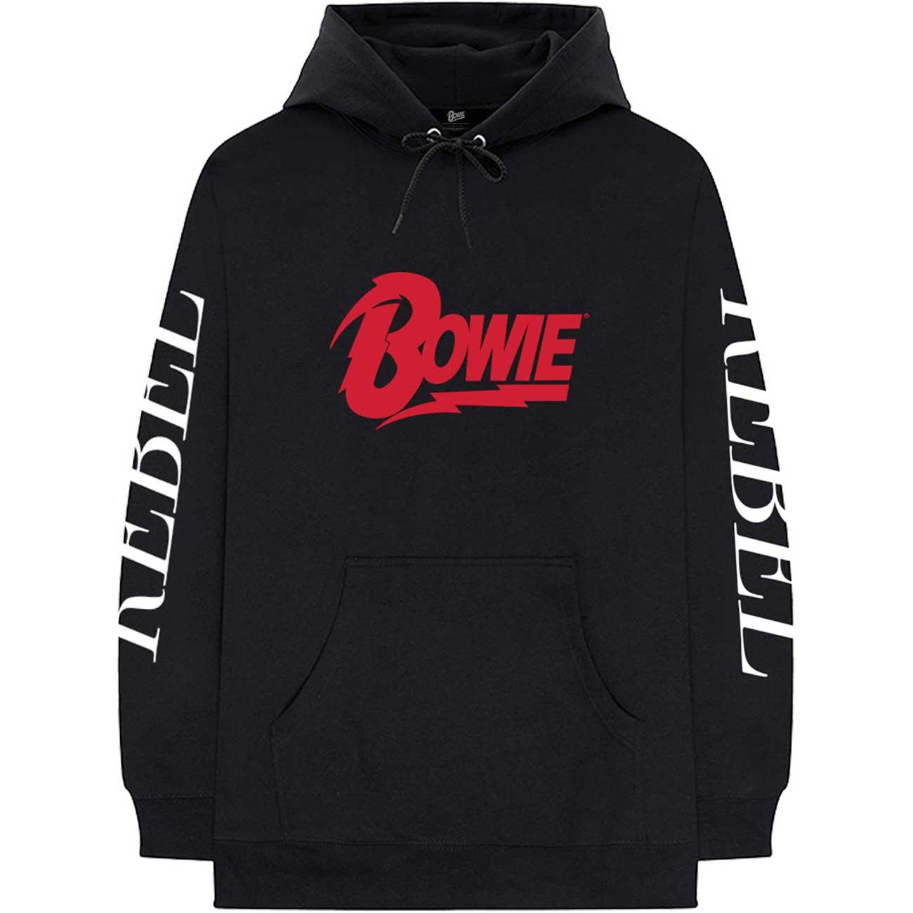 Rebel Rebel David Bowie Unisex Pullover Hoodie