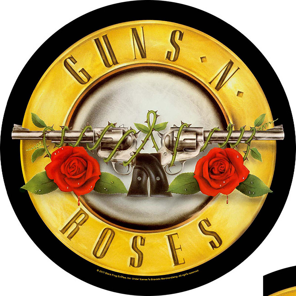 Guns N' Roses Bullet Logo Back Patch - PUNX.UK