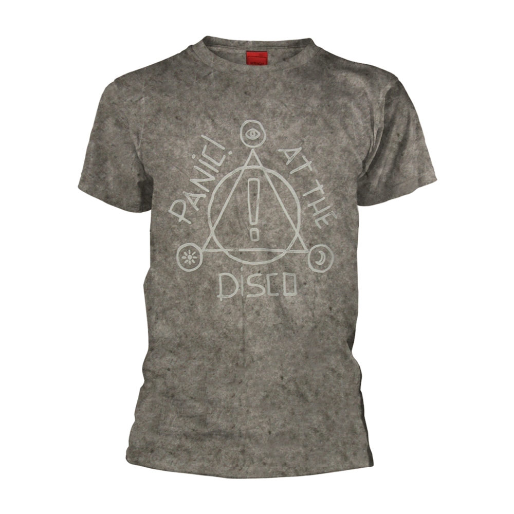 f3a7c6985 Panic! At The Disco Icons (speckle Wash) T-Shirt - PUNX.UK