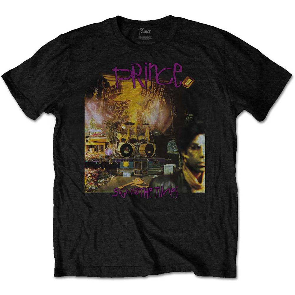 Amplified Prince Sign O The Times Men/'s T-shirt