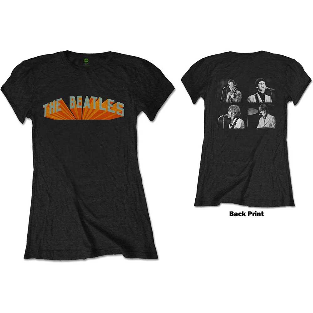 370bf818beb9c The Beatles Ladies Live in Japan (Back Print) T-Shirt - PUNX.UK