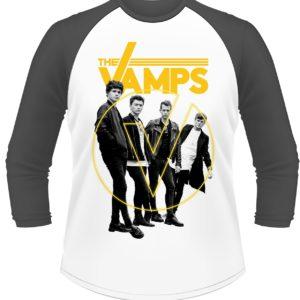 a8e73324 The Vamps Grouped 3/4 Sleeve Baseball T-Shirt