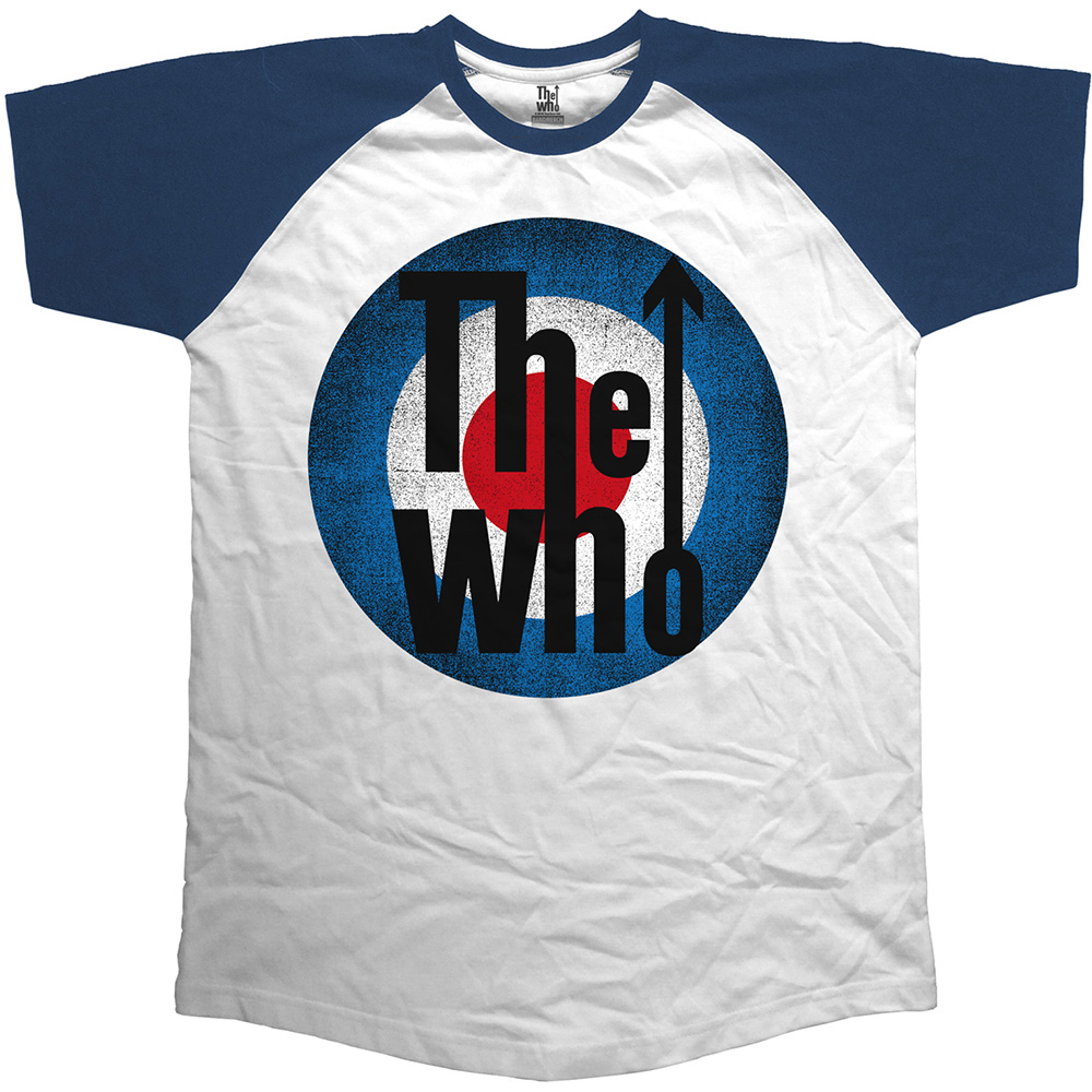 new concept e8c96 e0fae The Who Raglan Vintage Target T-Shirt