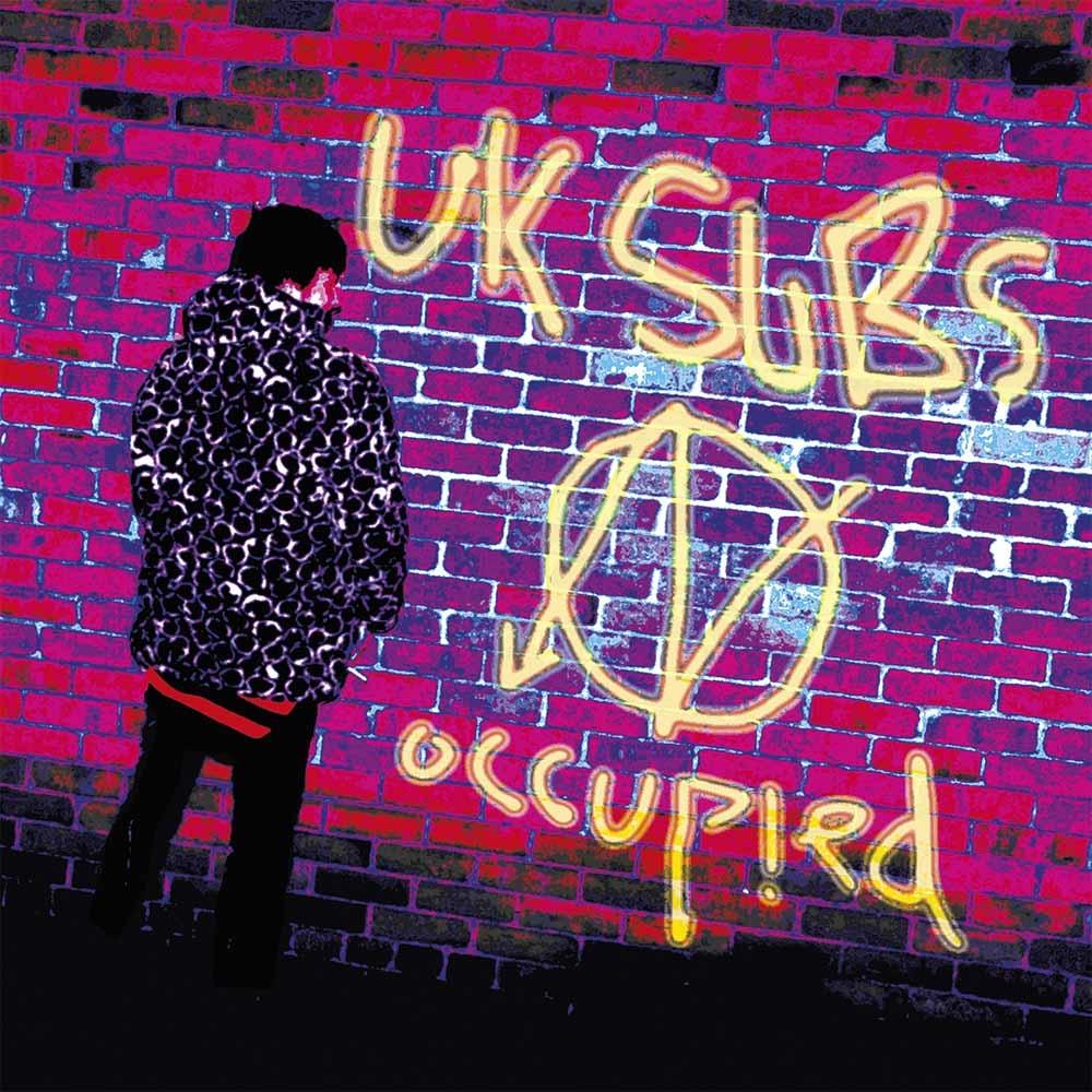 Uk Subs Occupied Vinyl Lp Punx Uk
