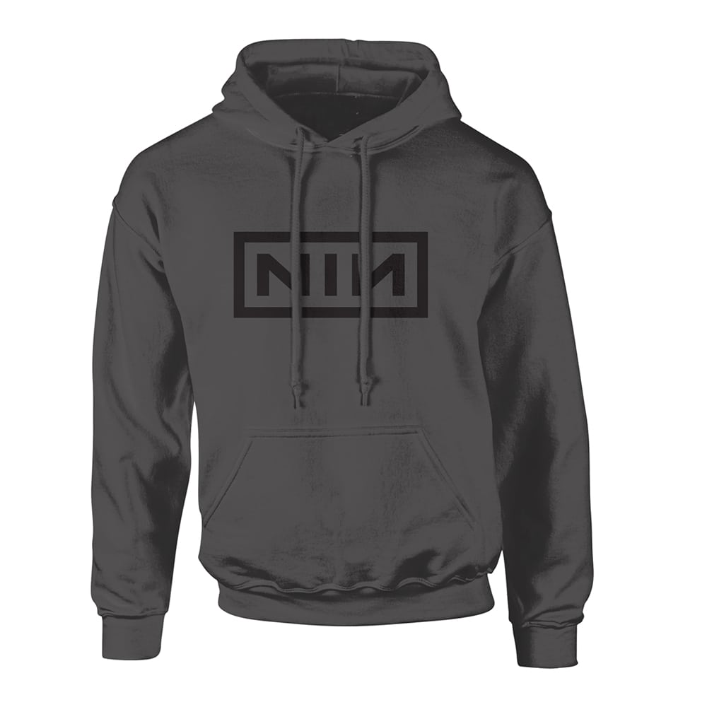 Nine Inch Nails Classic Black Logo Hoodie - PUNX.UK