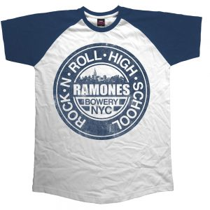 5d5607fc Ramones Red Text Seal Logo T-Shirt - PUNX.UK